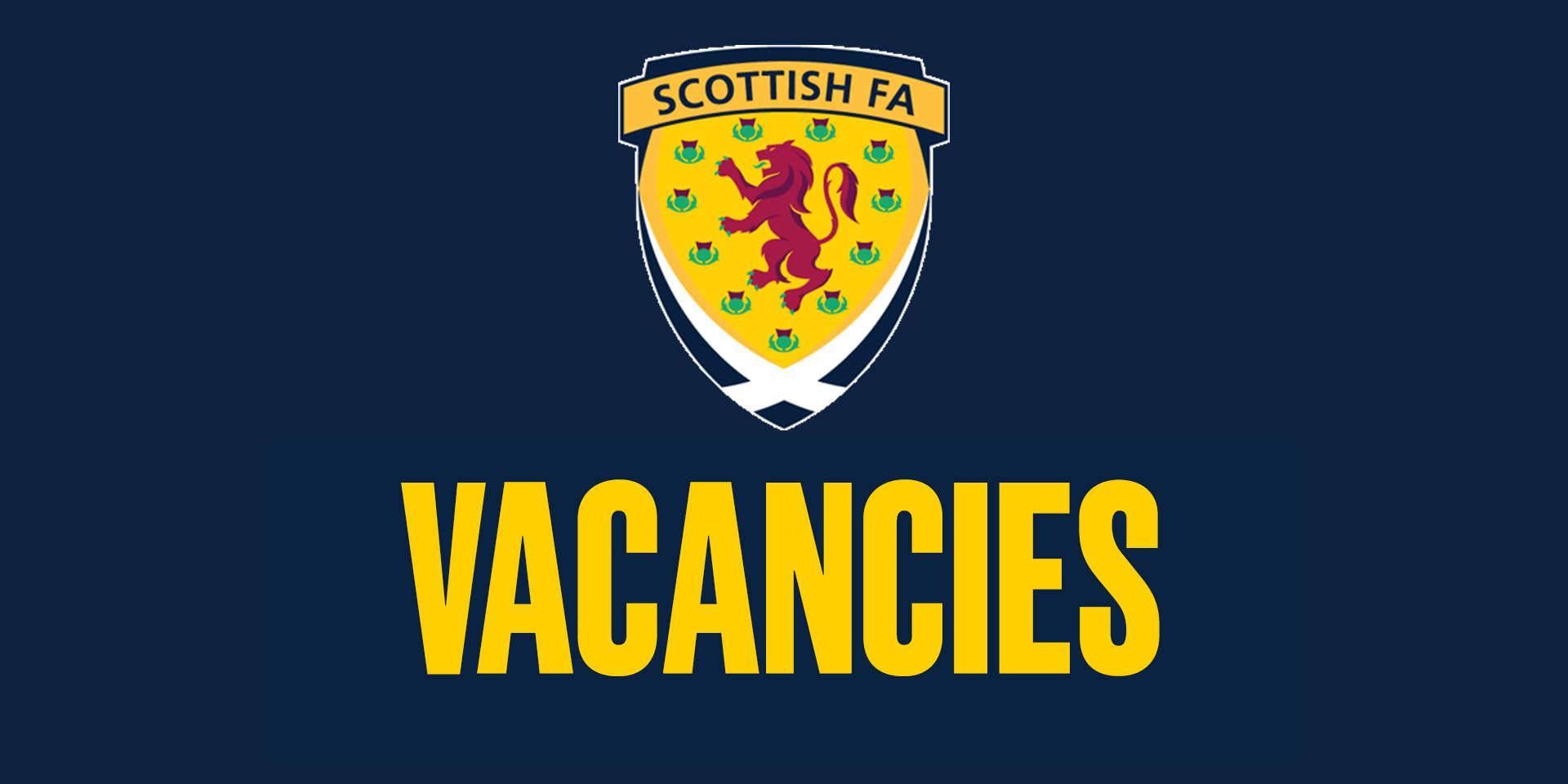 Job Vacancies | Scottish Football Jobs | Scottish FA